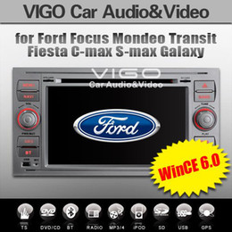 Wholesale Dvd Gps Ford Mondeo - Ford Car DVD GPS Sat Nav in Silver Color with 7inch Touch Screen, Focus Kuga Transit Mondeo S-max C-