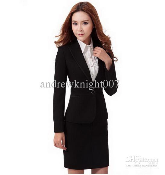2018 ladies skirt suit women business suit women career