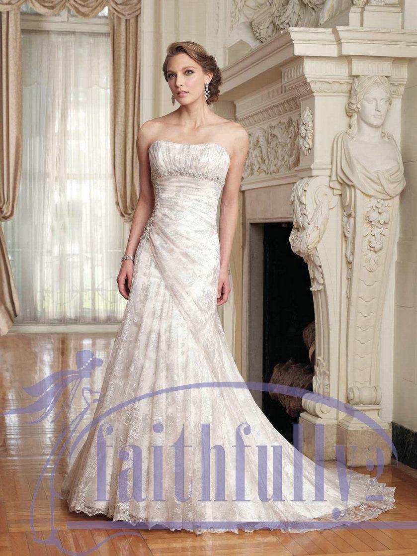 Cream color bridal dresses