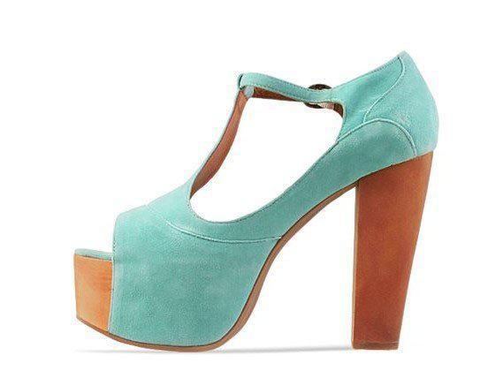 Jeffrey Campbell Foxy, Women's Open-Toe Heeled Shoes