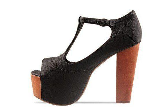 3e69c56b62de Hot Sale Jeffrey Campbell Sandals Foxy Wood Black Kidskin Good Quality High  Heels Cute Shoes Green Shoes From Yanisseller