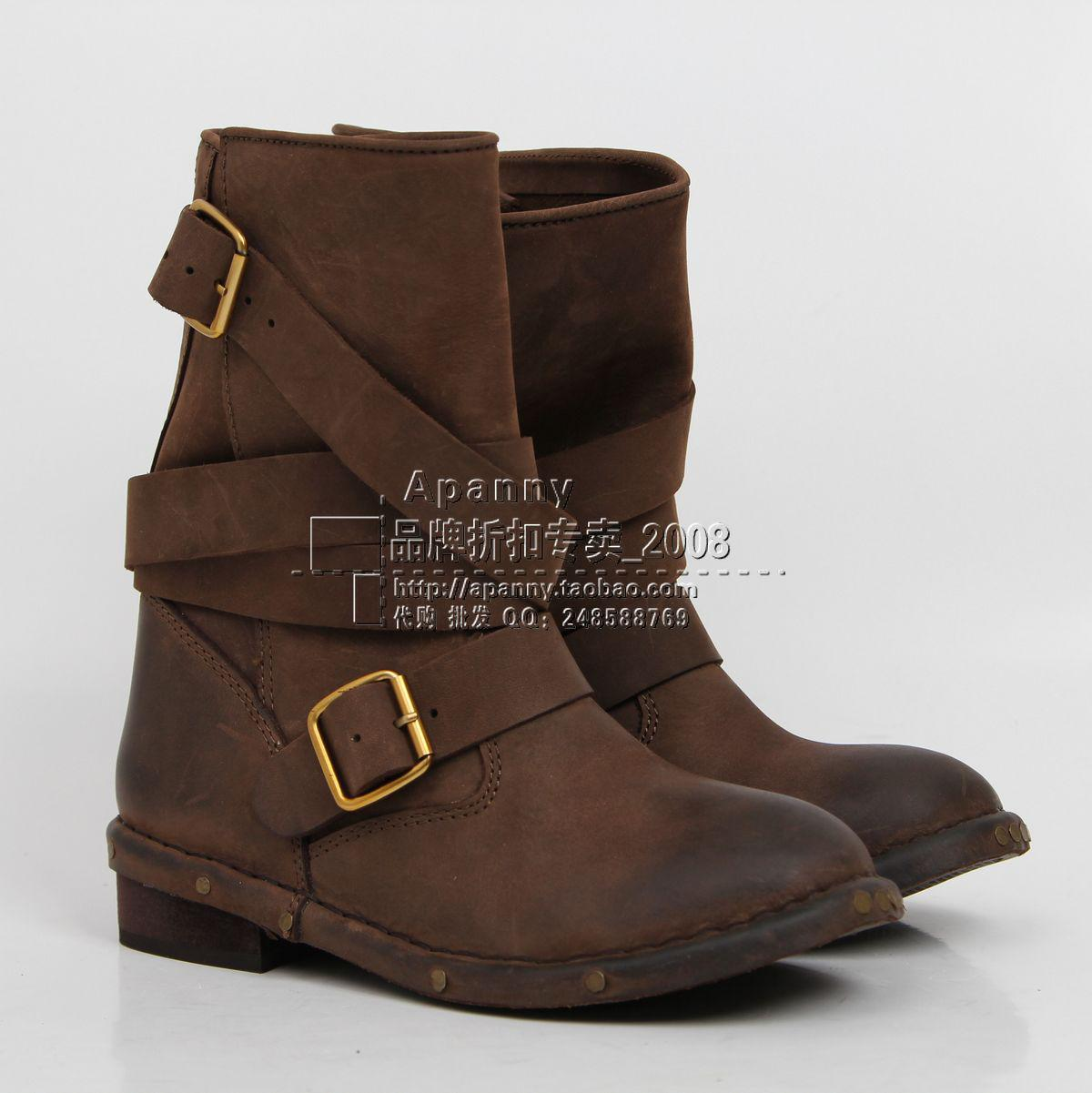Jeffrey Campbell Short Boots Brit Wrap Strap Booties Sbuckle Retro ...