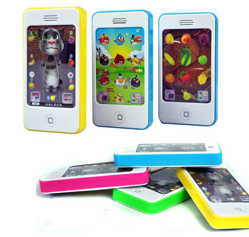 Super sale phone 4s model toy baby's phone learning machine musical phone for baby