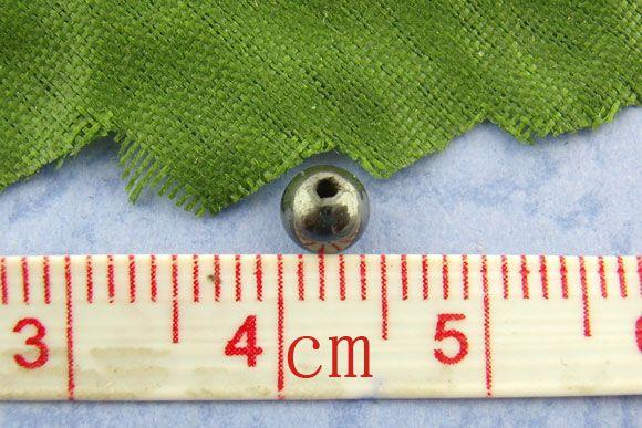 rondelles magnétiques Hematite Spacers Perles 4mm dia.