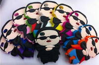 Wholesale Iphone Case Gangnam - PSY Gangnam Style Design Silica gel crystal Case for iphone 5 5G 5th iphone5 11colors 100pcs