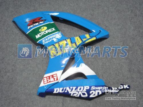 K62 Fairings Kit för 2006 2007 Suzuki GSXR 600 750 K6 GSXR600 GSXR750 06 07 GSX-R600 Blue Rizla