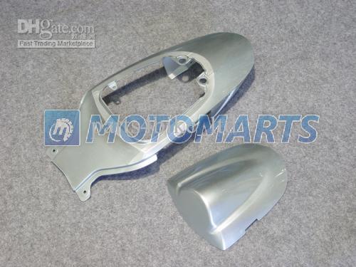 K6A Fairings Kit för 2006 2007 Suzuki GSXR 600 750 K6 GSXR600 GSXR750 06 07 GSX-R600 Vit Silver