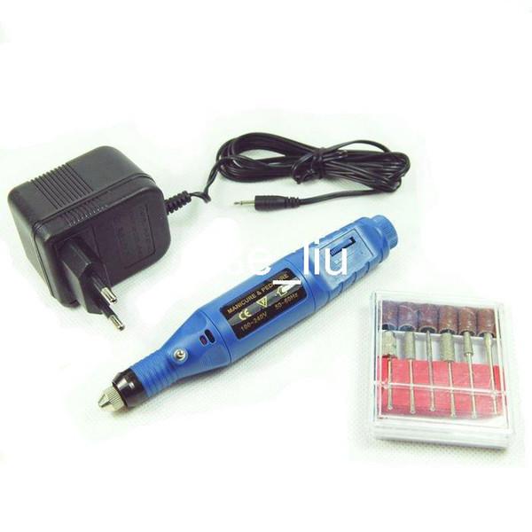 Máquina eléctrica del taladro de clavo Máquina eléctrica profesional de la pedicura de la manicura de la amoladora del clavo azul 1pcs