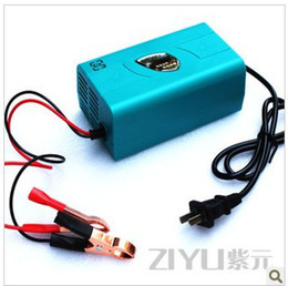 Wholesale Motorcycle Battery 12v - Car battery charger motorcycle intelligent battery charger 12V6A 12V charger free shipping