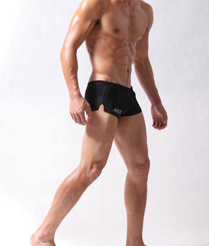 2017 /Aqux/Super Cool /Tight Sexy Men's Gym &Amp;Run Pants /Shorts ...