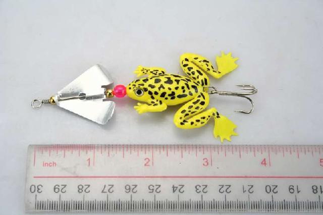 Kikker vissen lokt crankbait haken