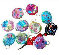 Wholesale Coin Purse Wallets Patterns - children Kids Cute flowers pattern COINS bag change purse Handbag Purse Bag cute coin bags wallet