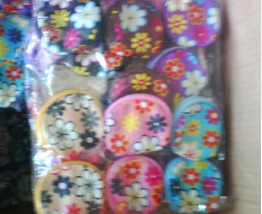 어린이 귀여운 꽃 무늬 COINS 핸드백 동전 지갑 귀여운 동전 주머니 핸드백 지갑 어린이 가방