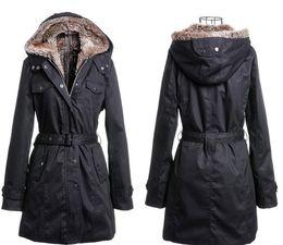 Wholesale Women Fur Winter Coats Xxl - 2014 New Artificial Fur coats Lining Winter Warm Woman Long Jacket Black Cream-Colored S M L XL XXL