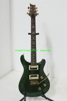 Wholesale Green Bird Guitar - Musical instruments New Arrival Green Electric Guitar Very Beauty Birds Inlay HOT
