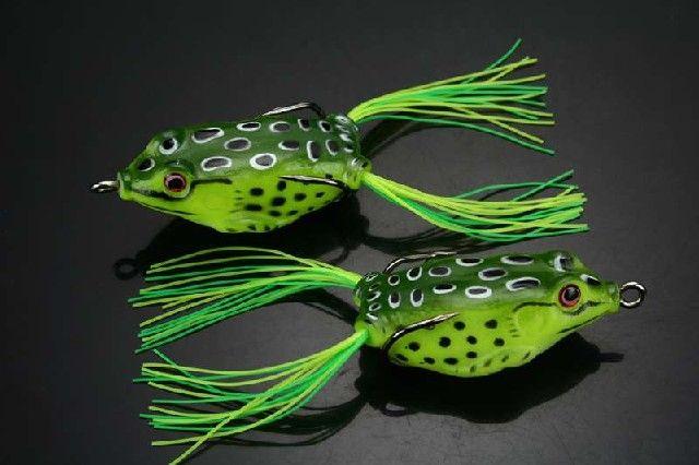 sapo macio Iscas de pesca topwaer ganchos 12g