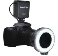 Wholesale led halo light rings for sale - Group buy Aputure Amaran Halo LED Ring Flash Speedlite AHL C60 for Canon K K LEDs