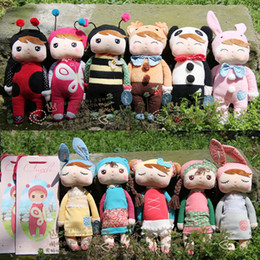Wholesale Doll Metoo Plush Toys - Angela Plush Toys Metoo Stuffed Rabbit Dolls Toys Nice Boxes Kids Christmas Gifts