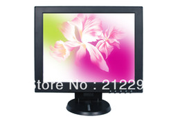 Wholesale 12 Pc Monitor - best selling! 12 inch PC monitor with VGA in Special for POS + DHL free shipping