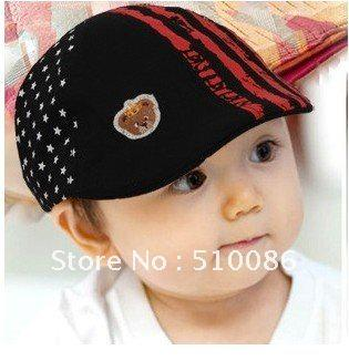 Super Cute Baby Beret Hat Children s Hat Striped Cool Kids Beret Cap Cool  Boy Beret UK 2019 From Candd 8c88fe82ae9