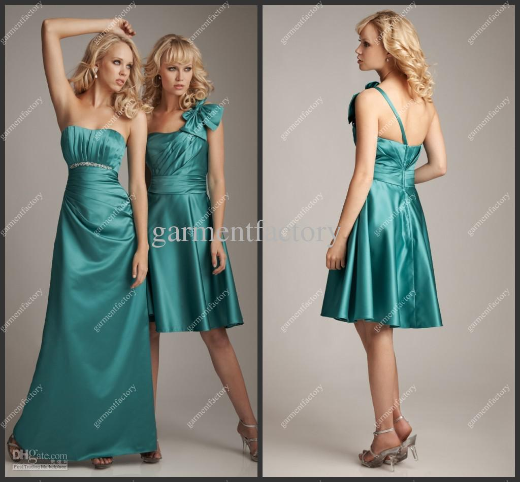2013 new arrival one strap a line taffeta green wedding 2013 new arrival one strap a line taffeta green wedding bridesmaids dresses patterns with bow silver bridesmaid dresses turquoise bridesmaid dresses from ombrellifo Images