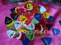Wholesale matte ABS guitar picks Pick Thickness of six to mm shrapnel mixed
