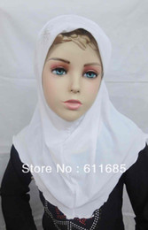 Wholesale Hijab Paisley - S303 new design small girl hijab scarf