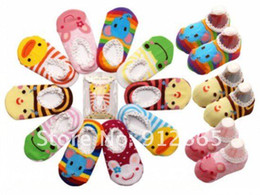$enCountryForm.capitalKeyWord Canada - 50pairs lot cotton baby non skip socks children indoor boat socks infant booties anklet Free Shipping