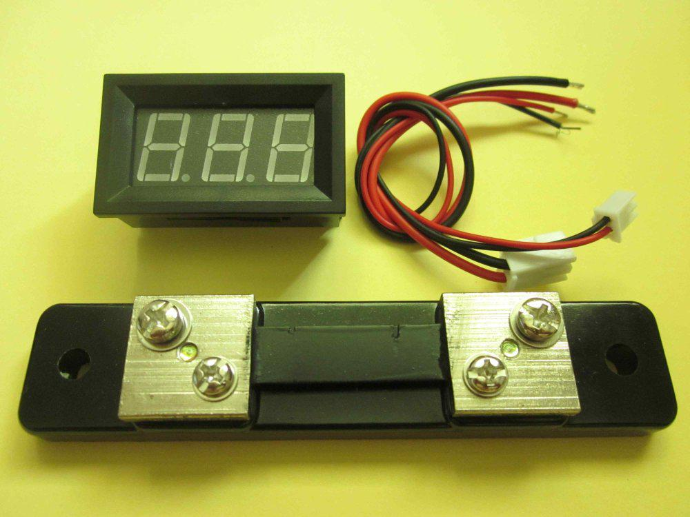 Digital Amp Meter Panel : Online cheap blue 0 50a optional digital dc amp panel meter ammeter