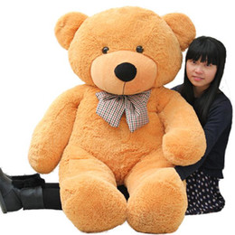 Wholesale Teddy Bear Lovers Big - High qualityFree shipping Low price Plush toys large 80cm teddy bear big embrace bear doll  lovers g