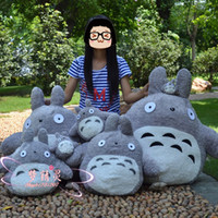 Wholesale Totoro Teddy Bear - Free Shipping wholeseale 60cm My Neighbor TOTORO doll dumplings plush toy dolls birthday gift