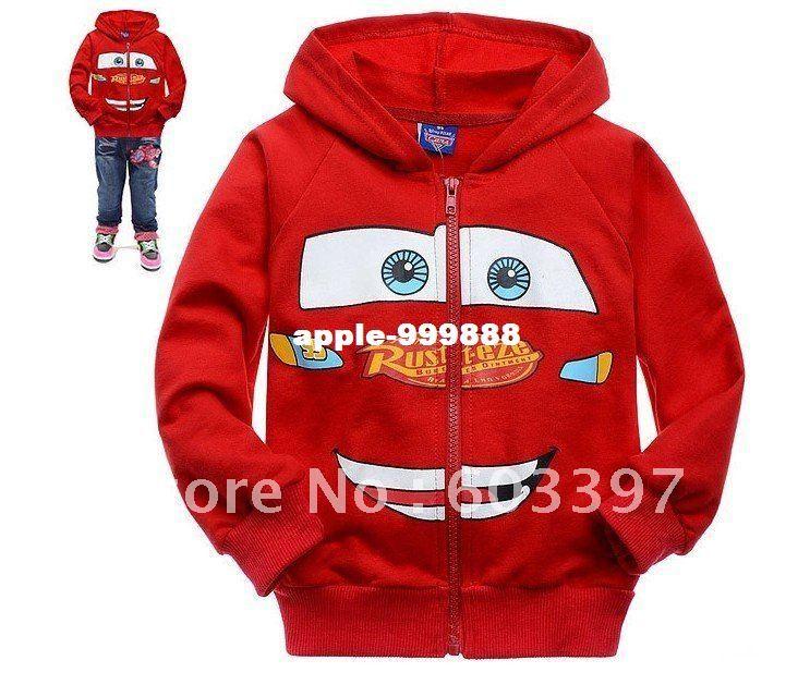 Lighting Jacket: Lightning McQueen Kids' Boys/Kids/Children Cars Jacket