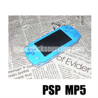 PMP Bulit In Camera FM TV OUT Handheld Game Player gratuit 2500 Jeux 8G DROP SHIPPING # 1436 # 73