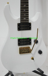 Wholesale Electric Guitar Birds - New Arrival White Birds Inlay Electric Guitar High Quality Top Musical instruments HOT