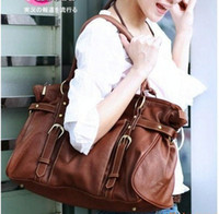 Wholesale Two Way Tote Bags - new vintage Casual women Hand bag Bronze business handbag Free style lady handbag,two ways bag for female 1 color for select.