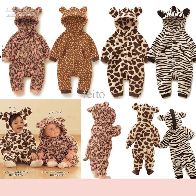 d2f4465e9d67 2019 Baby Onesies Baby Romper Lovely Animal Design Romper ...