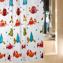 discount fish shower curtains hot saletwo style peva tropical fish shower curtain bath curtain