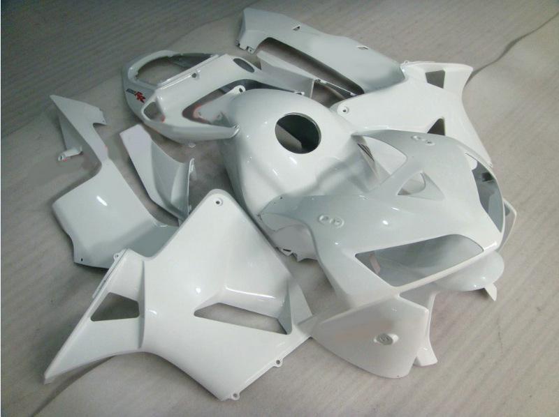 흰색 주입 정형 키트 CBR600RR CBR600 F5 CBR 600RR 2003 2004 K3 K4 03-04 오토바이 페어링 세트