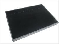 Wholesale Display Tray Necklace - JEWELRY BLACK NECKLACE BRACELET DISPLAY CASE BOX TRAY