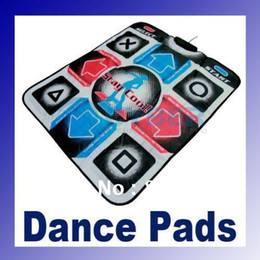 Wholesale Dance Pad Dancing Mat - New DDR Non-Slip Dancing Step Dance Pads Mats to PC USB 2.0   1.1 Free Shipping