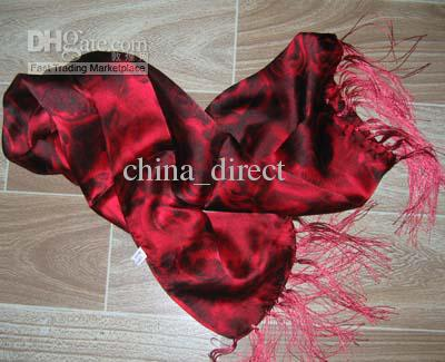 100% soie écharpe foulards en soie foulard SCARVES charme / # 1907