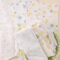Wholesale Double Cotton Gauze Handkerchief - Children's double gauze printed handkerchief saliva towel baby handkerchief nursing towel 100pcs