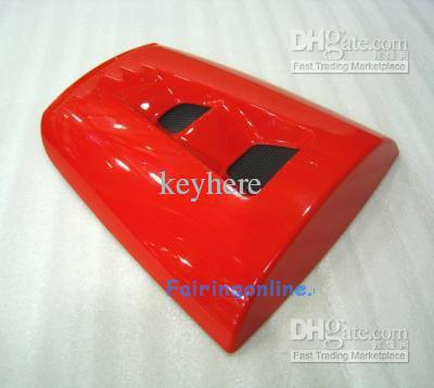 Czerwony kolor tylni siedzenia Pokrywa Cowl Fooring Kit dla Honda CBR 1000RR 04 05 06 07 2004 2007, wsparcie DIY