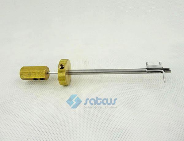 De deuropener van JIADE vijf secties van het bladslot Pick Locksmith Tool