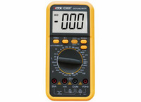 Wholesale Digital Multimeter Large Lcd - Bland New VICTOR VC9808+ 3 1 2 Digital Multimeter Ohm Voltmeter Meter, Large LCD, Free Shipping
