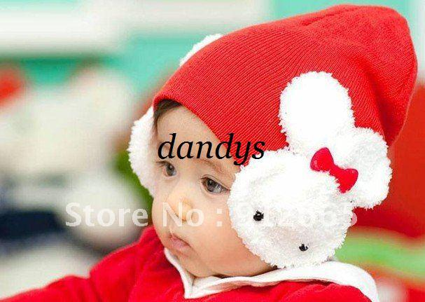 d91dbf72e9376 2019 CAPM Rabbit Baby Winter Hat Ski Cap Earflap Warmer For Children From  Dandys
