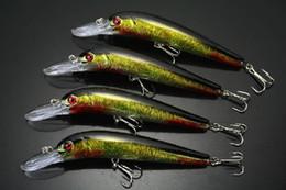 Walleye Lures Canada - Wholesale FISHING LURES CRANKBAITS HOOK BASS WALLEYE 16g 14cm