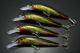 Ingrosso PESCA LURE CRANKBAITS HOOK BASS WALLEYE 16g / 14cm