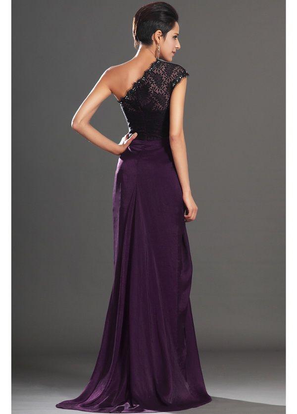 Dark Purple Long Dresses