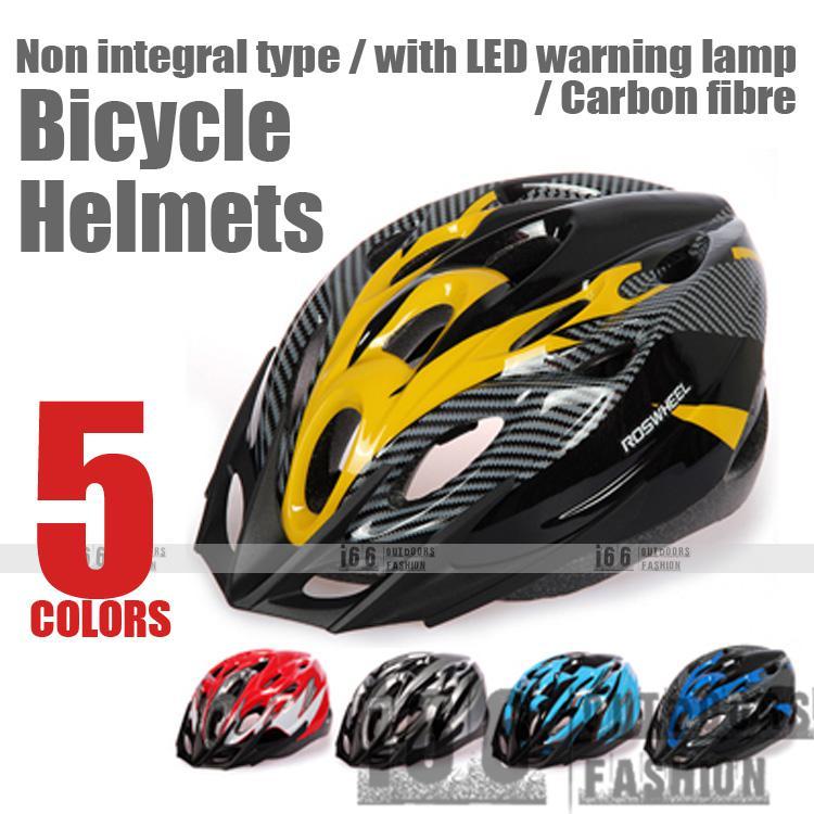 2018 Mountain Bike Riding Helmet With Led Light Bicycle Helmet